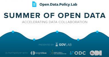 summer of open data
